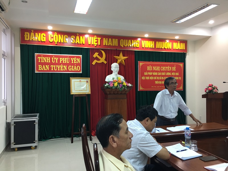 Phu Yen improves effectiveness of studying and following Uncle Ho's teachings