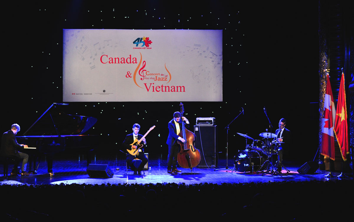 Jazz concert to celebrate 45 years of Vietnam - Canada diplomatic relations