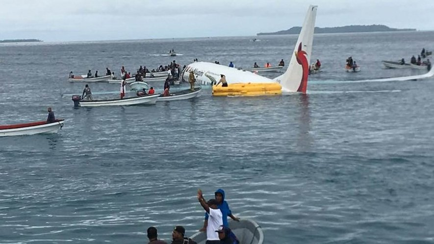Four Vietnamese citizens safe after plane crash in Micronesia