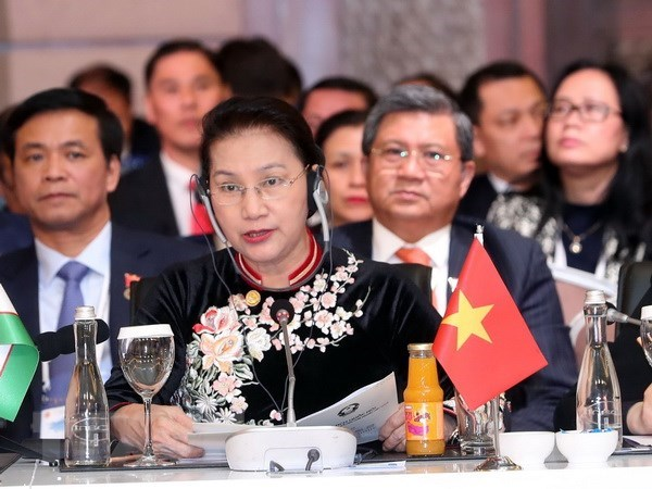 Vietnam ready to support cooperation with Eurasian parliaments: NA Chairwoman