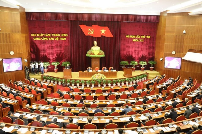 Party Central Committee's 8th session opens