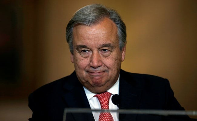 UN Chief Antonio Guterres visits India