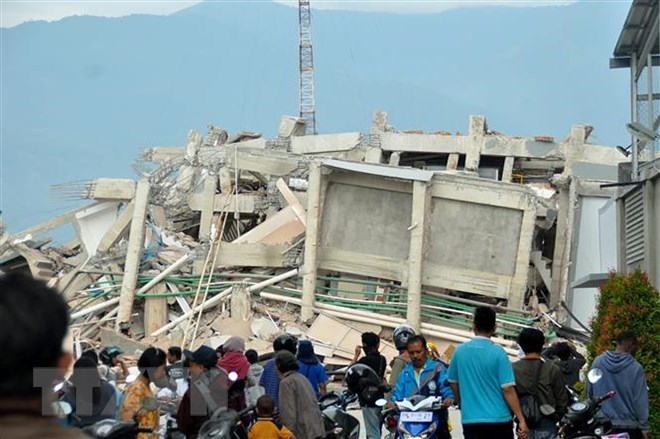 International help for earthquake and tsunami victims in Indonesia