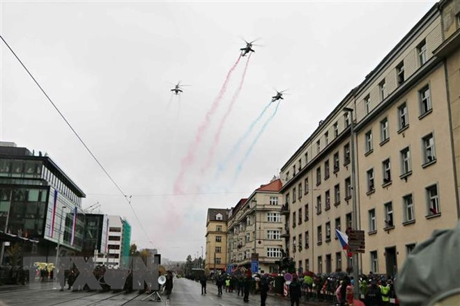 Czech Republic celebrates centennial of Czechoslovakia's Independence