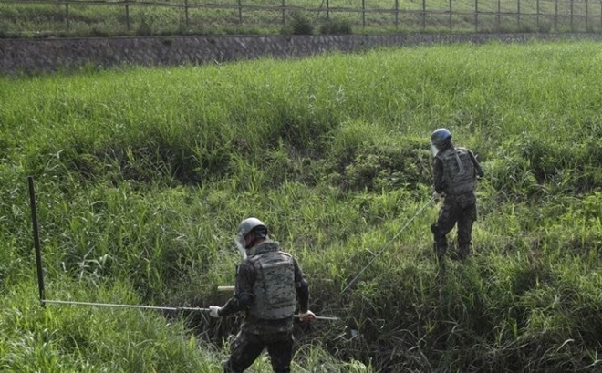 DPRK, RoK begin dismantling mines along DMZ