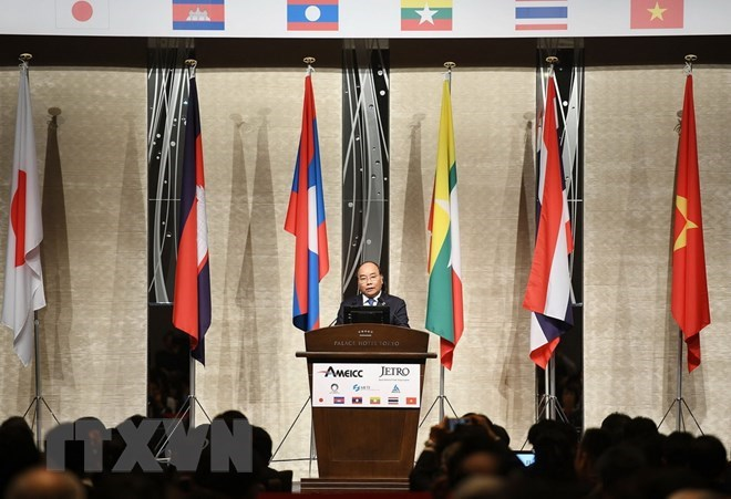 PM Nguyen Xuan Phuc attends Mekong - Japan business forum