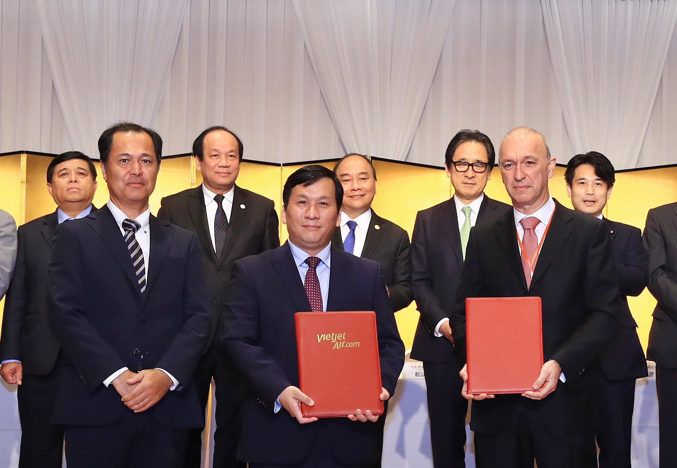 Vietjet inks financing USD1.2 billion agreements for fleet expansion