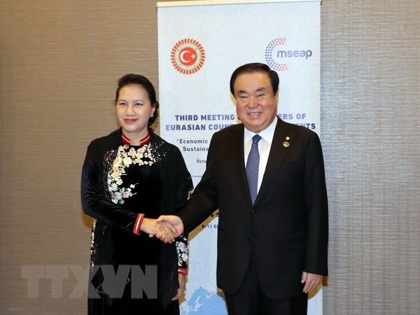 Vietnamese NA ready to boost ties with RoK's legislature