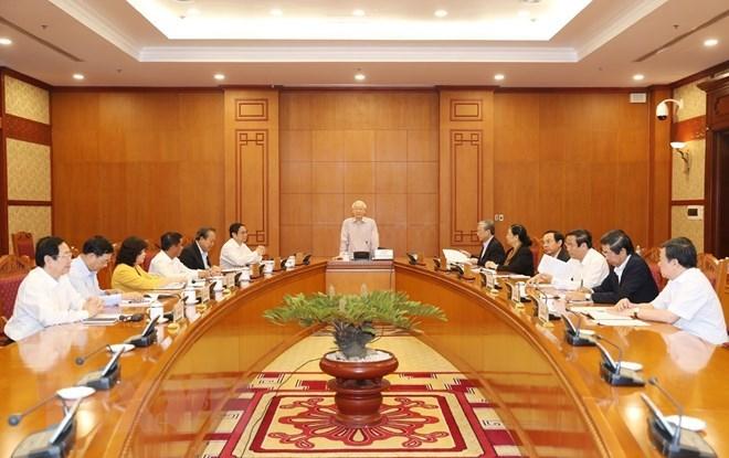 Top leader stresses strategic-level personnel planning