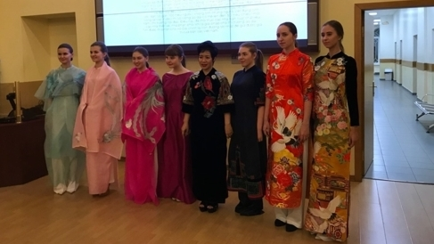 Vietnamese designer to introduce 'Ao dai' in Russia