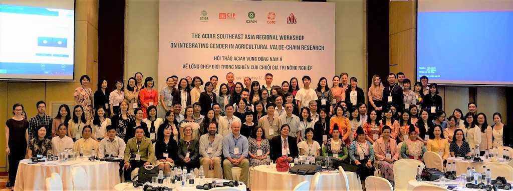 Promoting gender and social inclusion in agricultural research in Vietnam