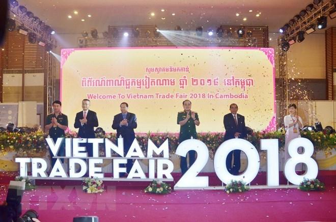 Vietnam Trade Fair 2018 in Cambodia opens