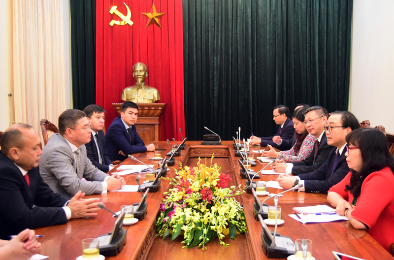 Hanoi increases cooperation with Kazakhstan's capital