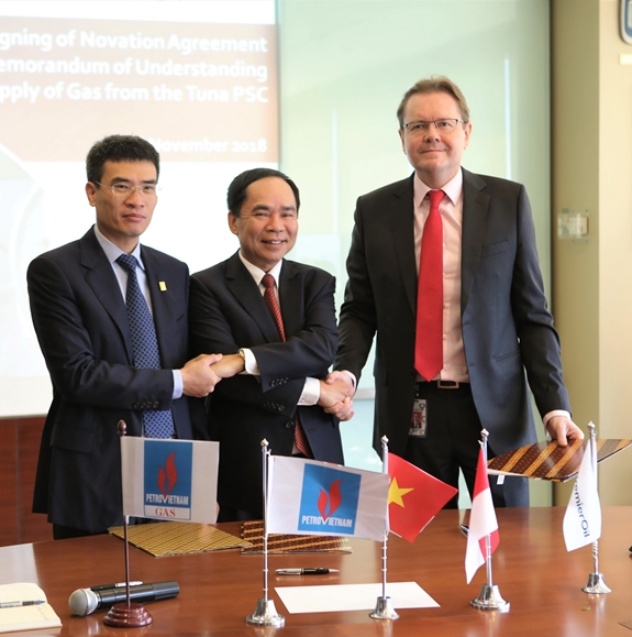 PetroVietnam, PV Gas sign deal to import gas from Tuna block