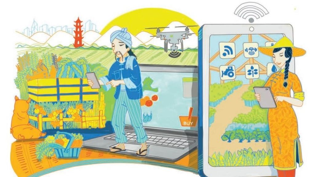Internet-based technologies revitalize rural markets in China