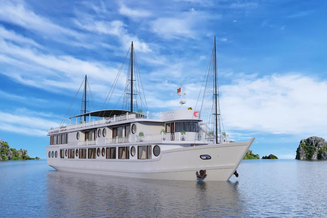 Oriental Sails Cruises officially starts selling Calypso Cruises on Lan Ha Bay