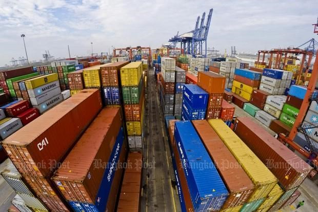 Thailand's exports surge in October