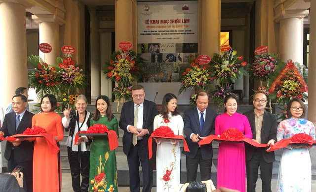 Nearly 60 Hungarian and Vietnamese paintings on display in Hanoi
