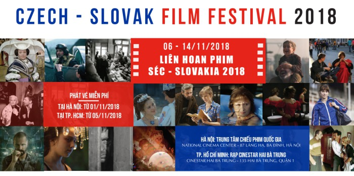 Czech and Slovak films introduced in Vietnam