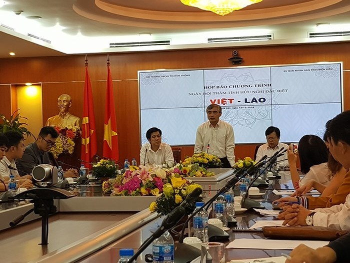 Vietnam - Laos Special Friendship Day in Dien Bien province