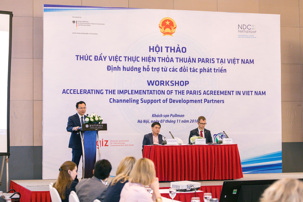 Vietnam accelerates Paris Agreement through joint national and international efforts