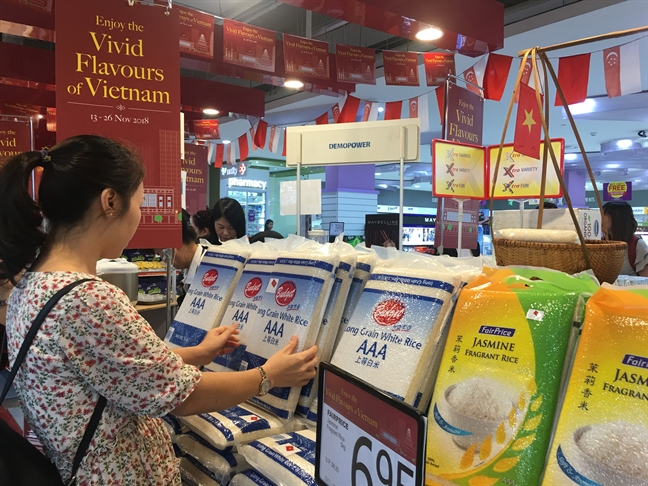Vietnamese Goods Week opens in Singapore