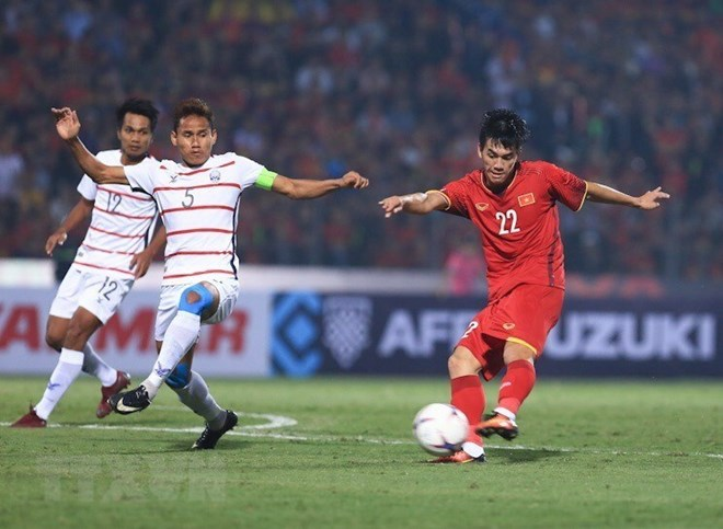 Vietnam defeat Cambodia 3-0, entering semifinal of 2018 AFF Suzuki Cup
