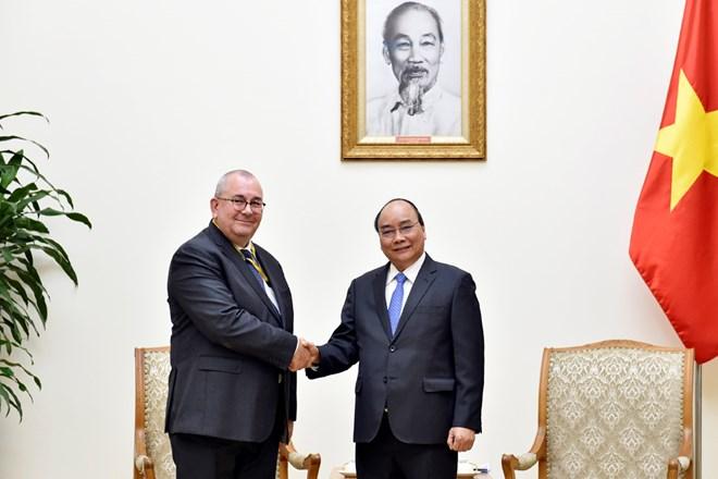 PM hopes for USD3 billion in Vietnam-Belgium trade