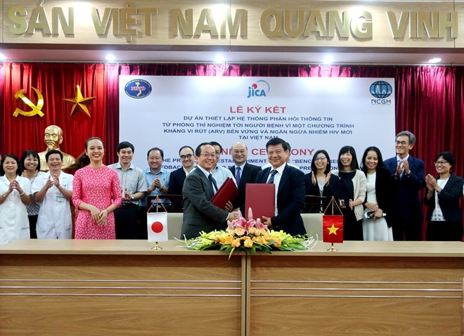 Japan supports new HIV infection prevention system in Vietnam