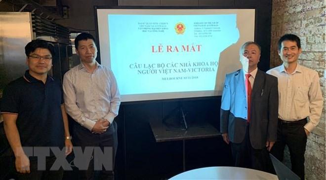 Third club of Vietnamese scientists makes debut in Australia