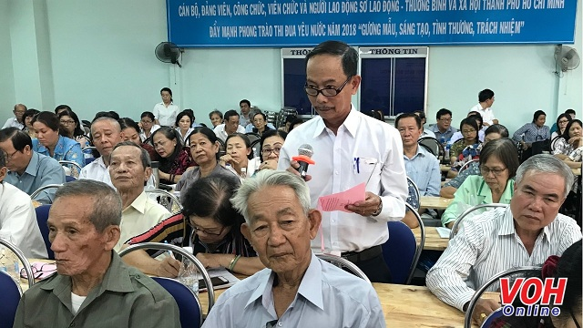 Ho Chi Minh city leaders have dialogue with the elderly