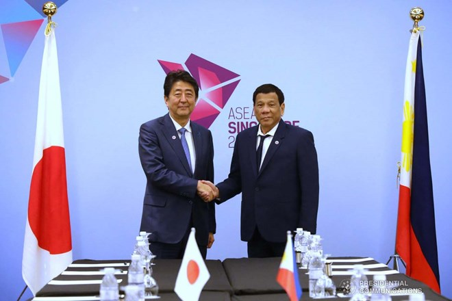 Philippines, Japan vow to maintain freedom of navigation in East Sea