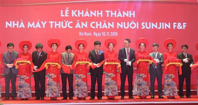 Sunjin opens fourth animal feed factory in Vietnam
