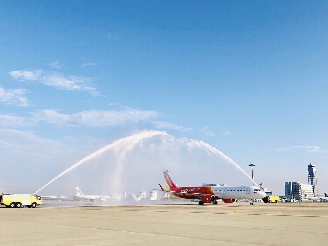 Vietjet's first direct flight to Japan launched