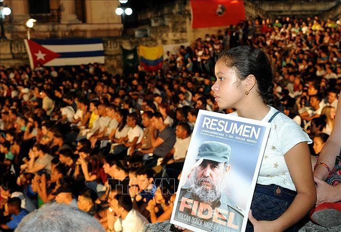 Cuba marks anniversary of Fidel