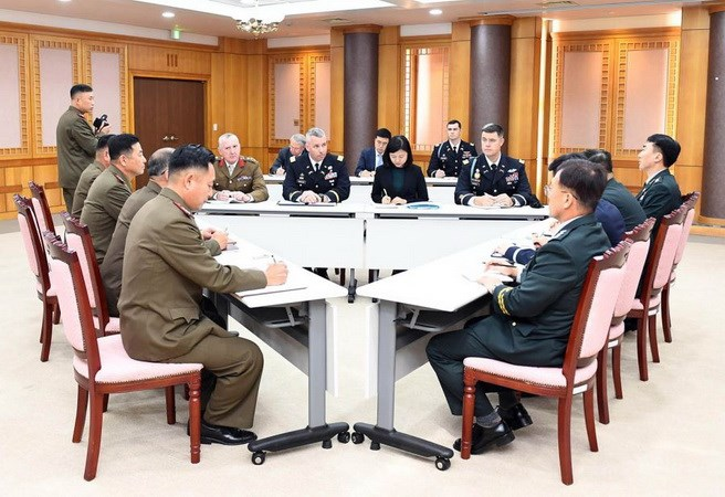 UN Command and two Koreas hold talks to disarm JSA in border area