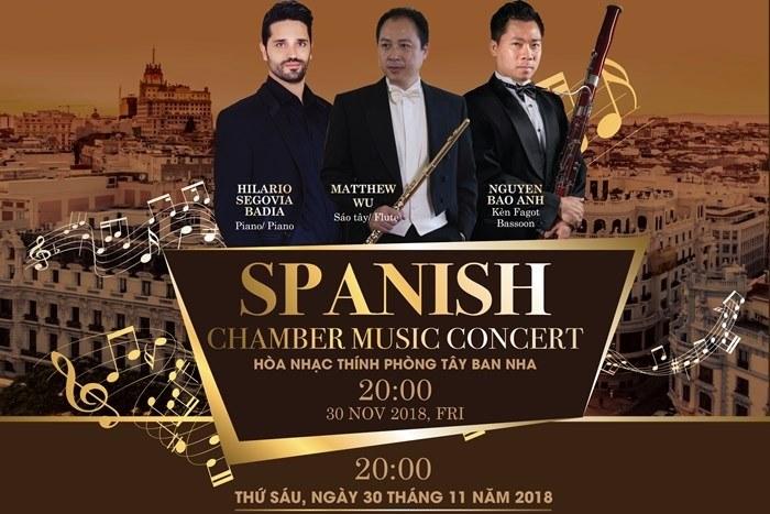 Famous Spanish pianist Hilario Segovia to perform in HCMC