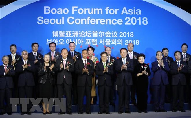 Boao Forum for Asia Seoul Conference 2018 opens