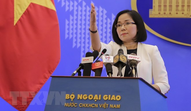 Vietnam resolutely opposes China's activities in Bombay reef