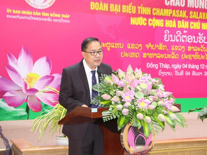 Lao localities boost trade and investment promotion in Dong Thap