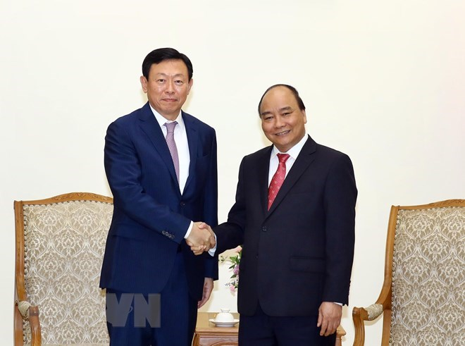 PM asks Lotte Group to support Vietnamese start-ups