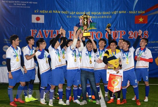 Vietnamese Football Tournament held in Japan's Kanto region