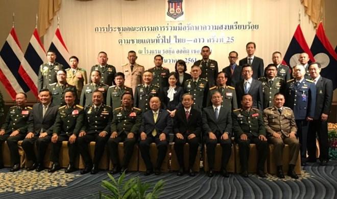 Thailand, Laos agree on border security