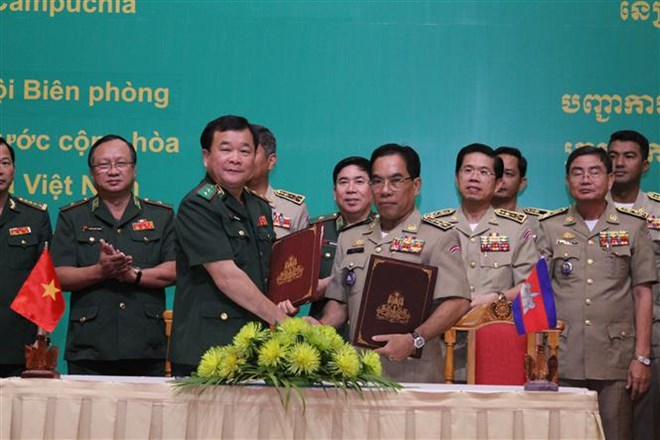 Vietnam, Cambodia enhance cooperation in border management