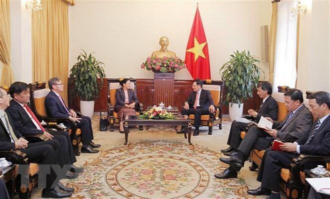 Ambassador lauds Vietnam-Laos ties ahead of Deputy PM's trip
