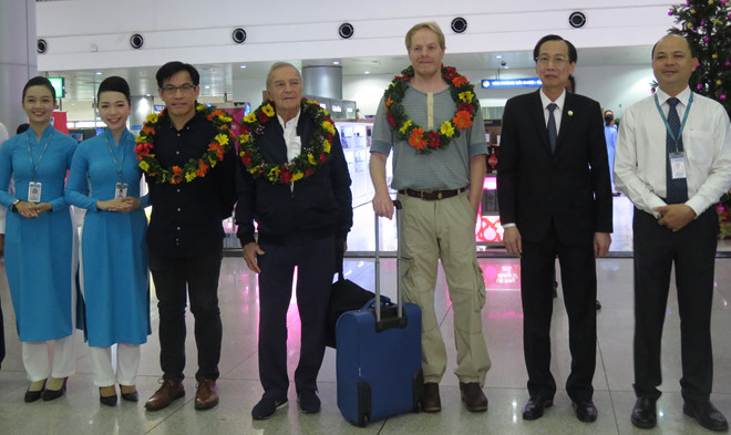 HCM city welcomes 7 millionth foreign visitor in 2018