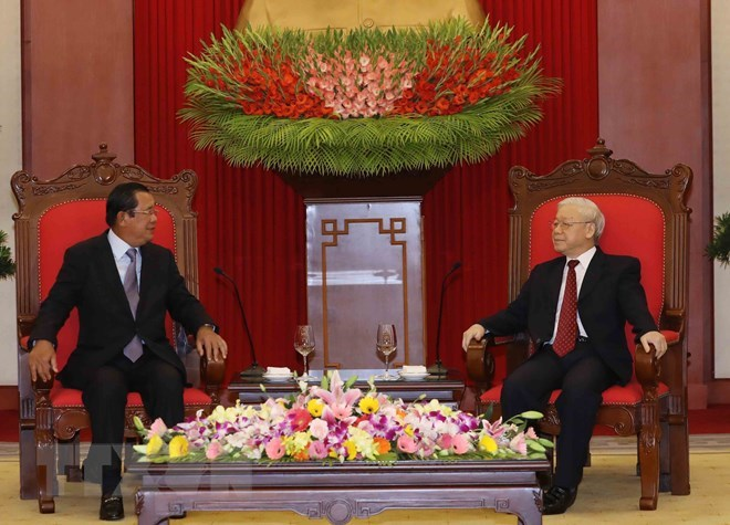 Vietnam treasures friendship, cooperation with Cambodia: Party leader