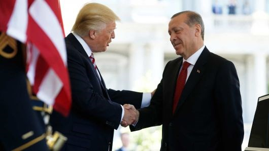 Recep Tayyip Erdogan invites Donald Trump to visit Turkey