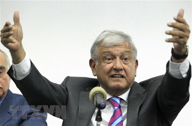 Andres Manuel Lopez Obrador sworn in as Mexico's President