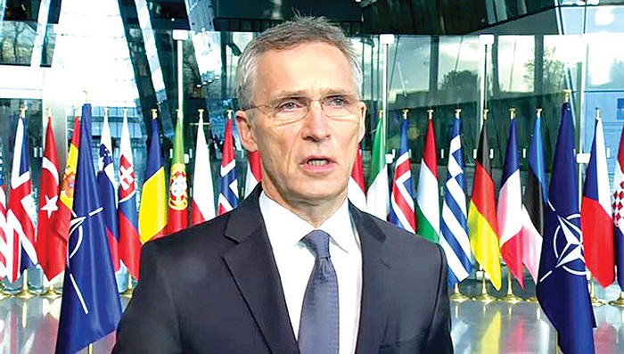 NATO Foreign Ministers meet in Brussels